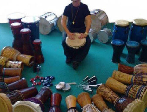 Drumming in the Open